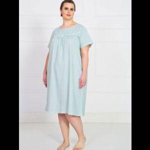 Свободная домашняя сорочка с коротким рукавом