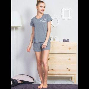 Женский комплект с коротенькими шортикми