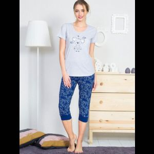 Женский комплект с коалой на футболке