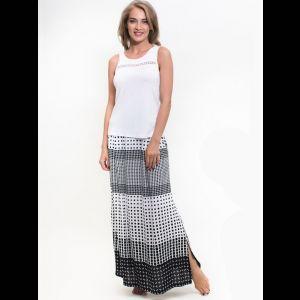 Женский комплект с длинной юбкой