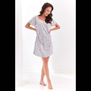 Короткая женская сорочка Amber с кошечками