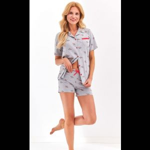 Женская пижама Amy с коротенькими шортиками