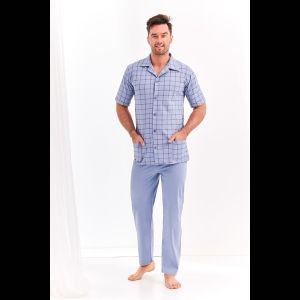Мужская пижама Gracjan с клетчатой рубашкой