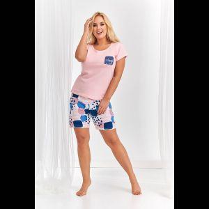 Женская пижама Kasia с имитацией кармашка