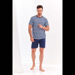 Мужской комплект Max с полосатой футболкой