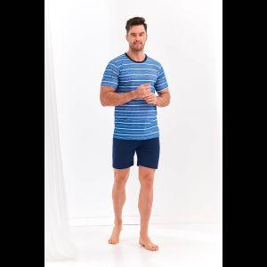 Мужской пижамный комплект Max с полосатой футболкой