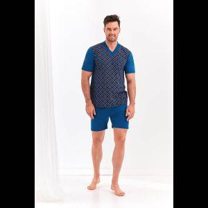 Мужской комплект Roman с однотонными шортами