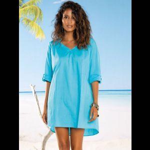Свободное пляжное платье