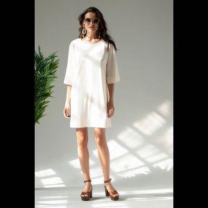 Женственное платье c рукавами-реглан