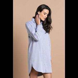 Красивая сорочка-рубашка длиной выше колена