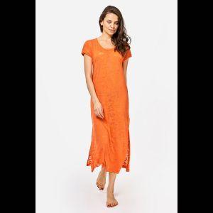 Длинное платье-туника из эластичной вискозы