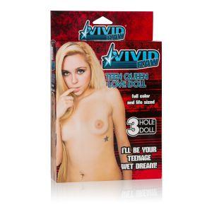 Надувная секс-кукла Vivid Raw Teen Queen Love Doll