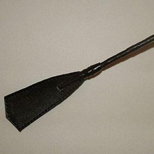 Длинный витой стек с наконечником в форме хлопушки - 85 см.