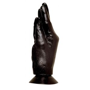 Кисть-реалистик на присоске для фистинга - 21 см.