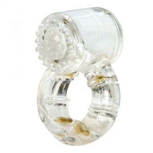 Эрекционное кольцо с вибрацией Climax Gems Quartz Ring