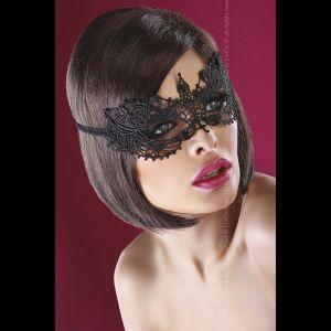 Эффектная маска на глаза из ажура