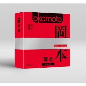 Ультратонкие презервативы OKAMOTO Skinless Skin Super thin - 3 шт.