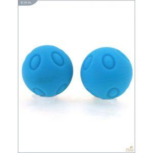 Металлические шарики Wicked с голубым силиконовым покрытием