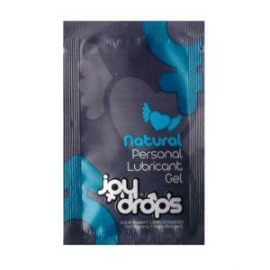 Пробник смазки на водной основе JoyDrops Natural - 5 мл.