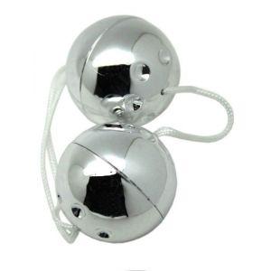 Серебристые шарики со смещённым центром тяжести