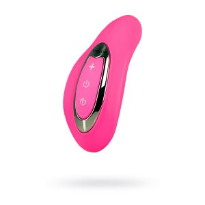 Розовый вибромассажер Nalone Curve
