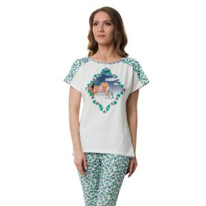 Нежная пижама Dreamwood с совами на футболке