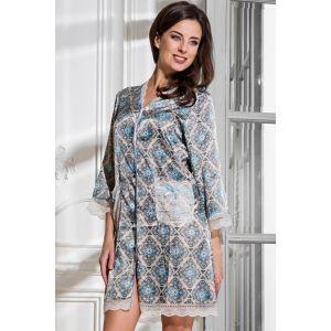 Оригинальный халат на пуговицах Palermo