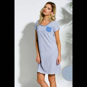 Сорочка Lucy с кармашком на груди