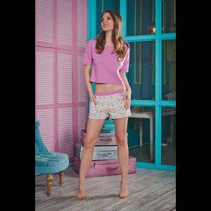 Пижамка Caramel с цветными шортиками