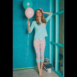 Пижама Kaleidoscope с цветными бриджами