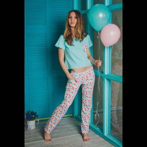 Пижама Kaleidoscope с цветными штанишками