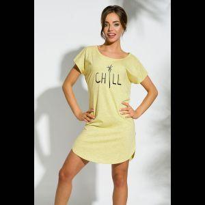 Сорочка Pia с надписью