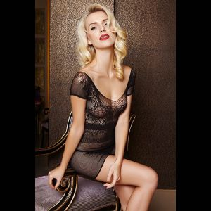 Соблазнительное платье-сетка