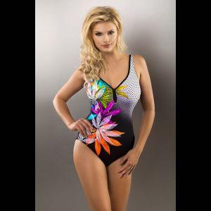 Слитный женский купальник Zoja с цветочным принтом