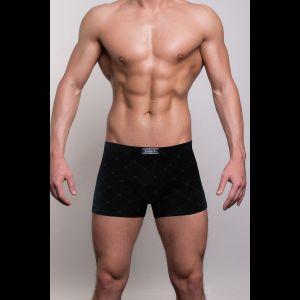 Мужские трусы-боксеры с узором в виде крупной сетки