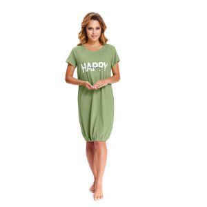 Сорочка-баллон с надписью на груди