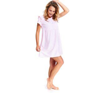 Ночная сорочка в полоску