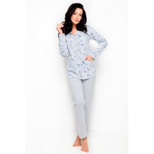 Пижама Fabia с цветочным орнаментом на рубашке