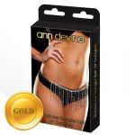 Золотистое украшение на бедра Dangler Belt